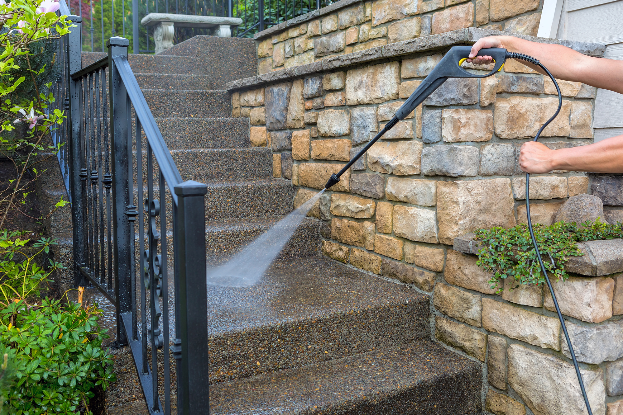 walkway cleaning columbia md